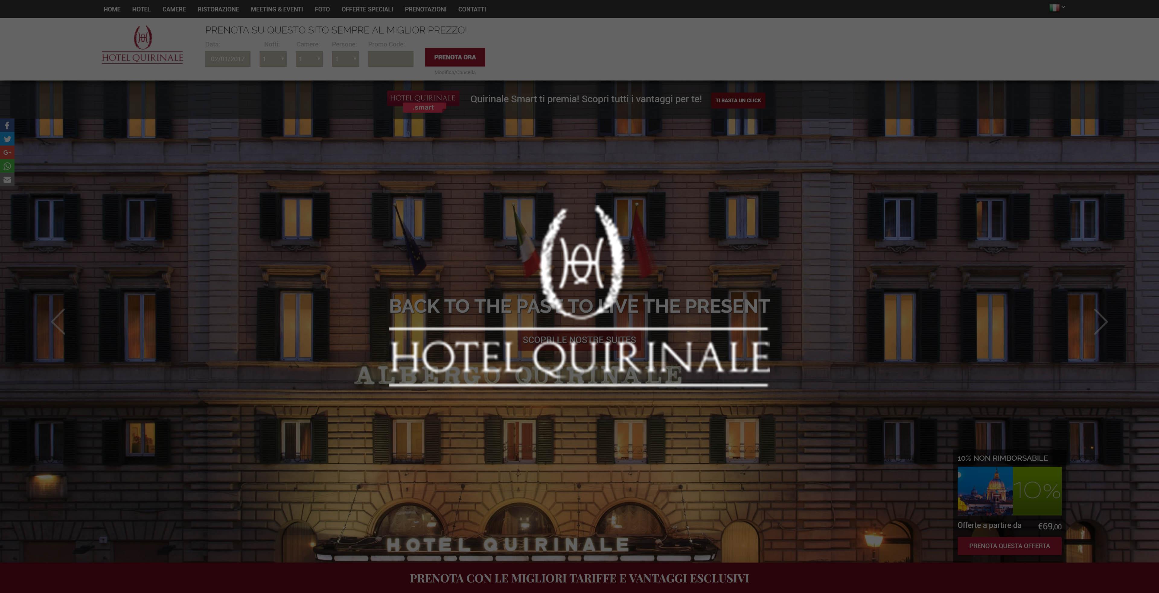 Hotel Alexandra Roma Booking